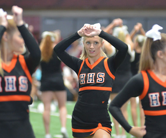 Photo Feature: Hoover Masters Cheer Camp