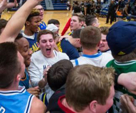 Saline holds on for first win over Ann Arbor Huron in 10 years