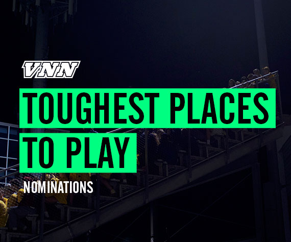 Where's the Nation's Toughest Place to Play?