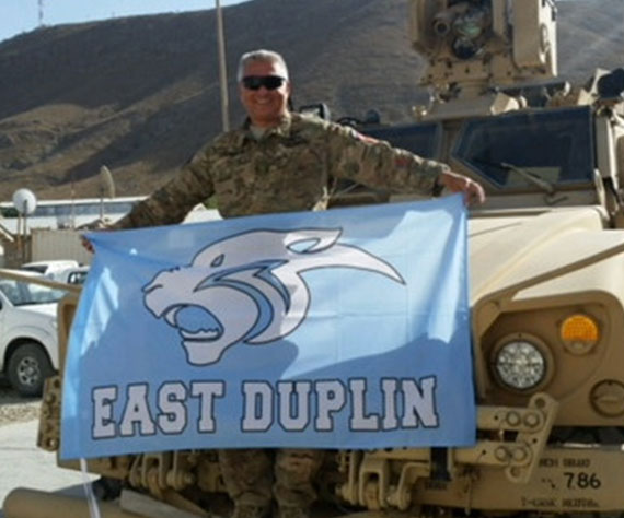Panther Nation (NC) makes an appearance in Afghanistan