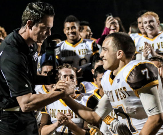 Golden West (CA) Senior Running Back Gonzalo Rodriguez Sets Visalia Rushing Record