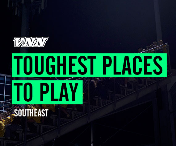 Vote for the Southeast's Toughest Place to Play