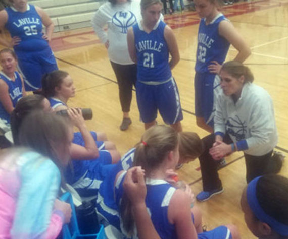 LaVille (IN) Girls Basketball upsets #5 Oregon-Davis