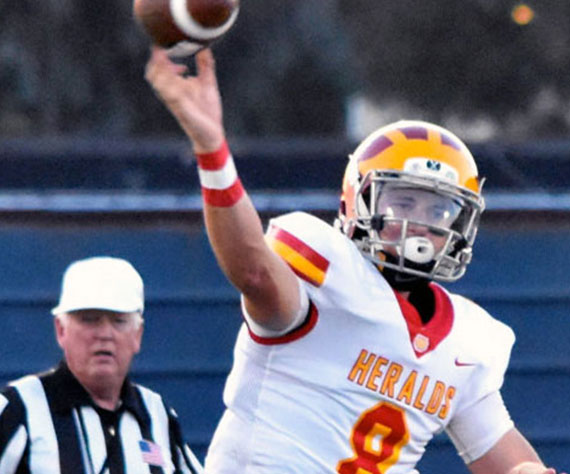 Quinn Commans closes out an amazing career as Whittier Christian (CA) Herald QB