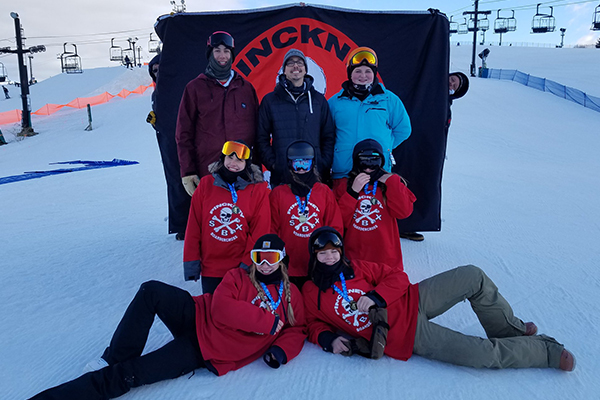 Pinckney (MI) Girls Boardercross Team wins state championship
