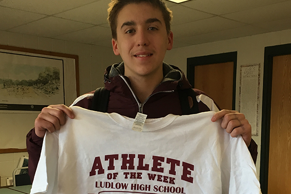 Ludlow (MA) Freshman Swimmer Aaron Turgeon Takes Aim at School Records