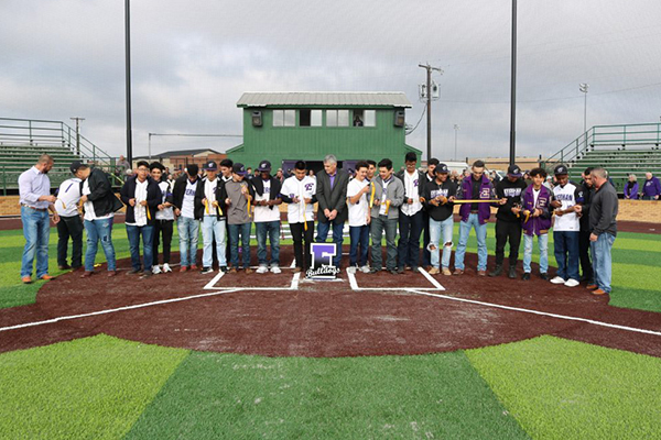 Everman (TX) dedicates Gary T. Balch Field