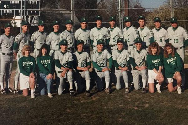 Northmont (OH) honors 1988 Boys Varsity Baseball