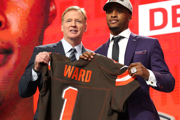 Nordonia (OH) Alum Denzel Ward Drafted 4th Overall in the NFL Draft