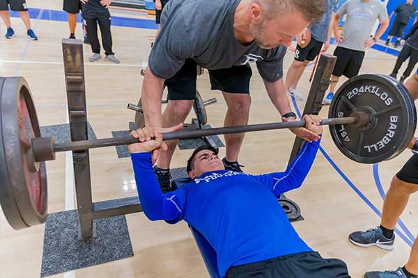 "Ramona (CA)'s Football Lift-a-Thon ""explodes"" to kick off its season"