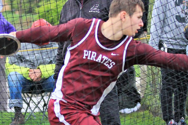 Bell Track and Field Invitational Rings in Spring at Rocky River (OH)