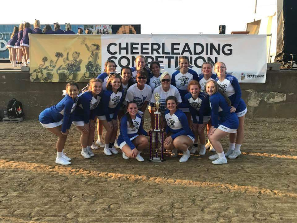 Frankfort High School's (IN) Competition Cheer Squad Takes First Place at State Fair
