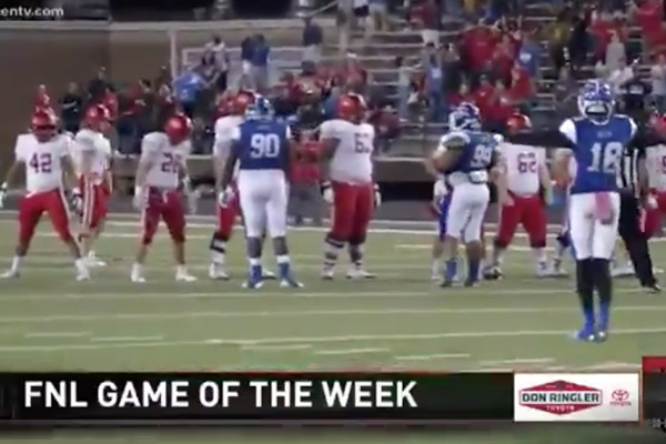 Watch Live – the last three possessions of the Temple / Belton (TX) Game