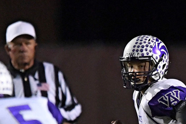 Arvada West (CO) Quarterback Johnny Krutsch breaks AW Passing Leader Record