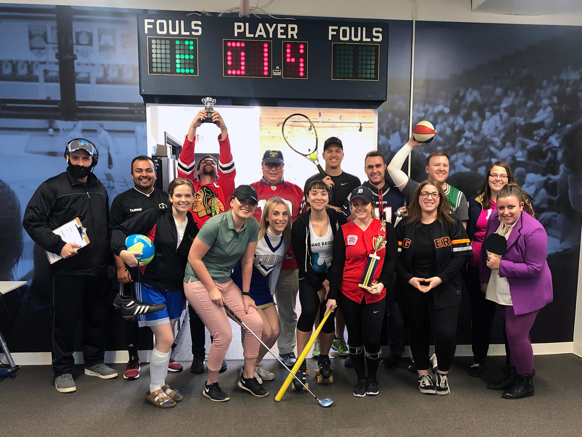 Team VNN - Halloween Sports Dress-Up Day