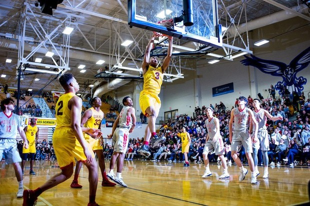 Les Schwab Invitational 2017 - Oak Hill Academy Dunk