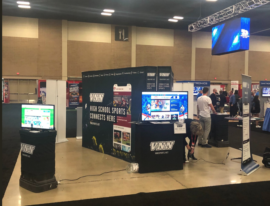 NIAAA National Athletic Director Show 2018 Booth Layout