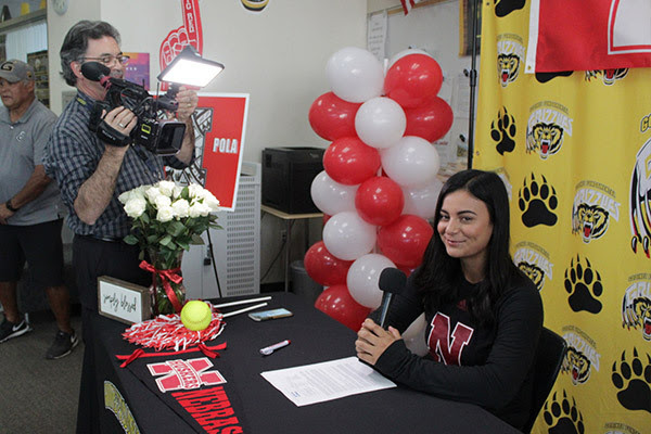 Godinez (CA) Student-Athlete Keana Pola Signs with Nebraska University