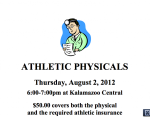 Physicals Made Easy This August