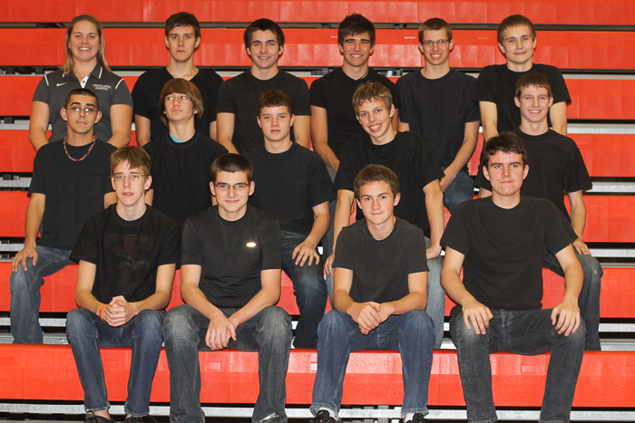 2012 Boys Varsity Swim and Dive Team photo