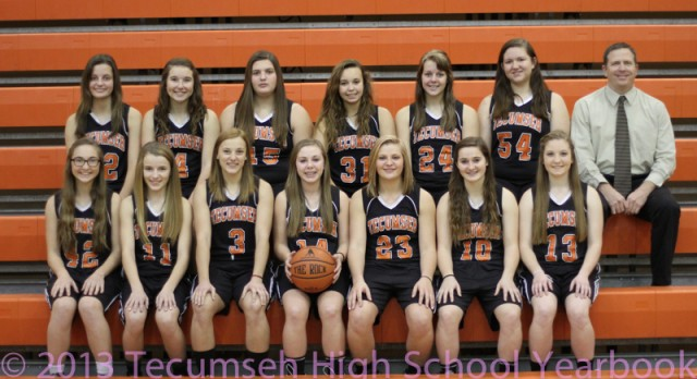 Girls' JV Basketball Defeats Ypsilanti