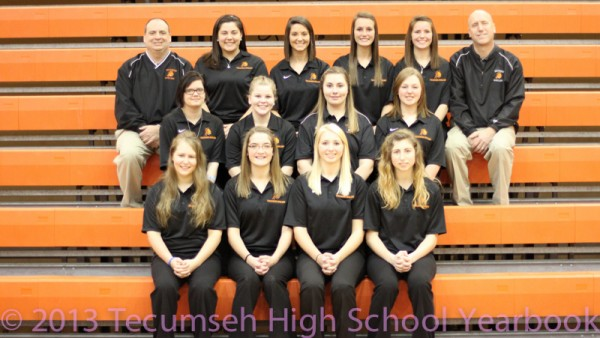 2013 Girls Bowling Team Photo