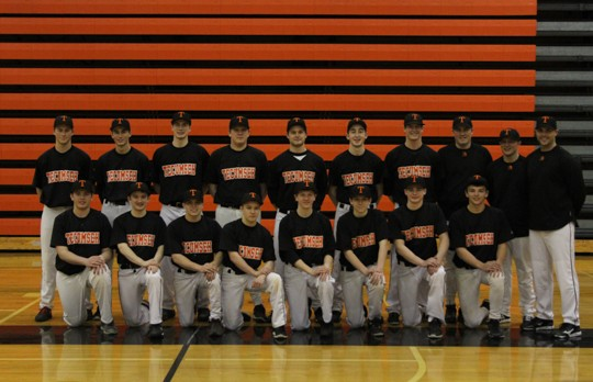 Boys' Varsity Baseball Opens Season, 2-1