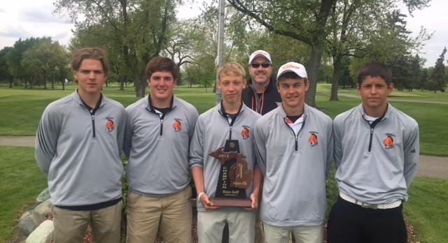 Boys Golf Wins District Championship