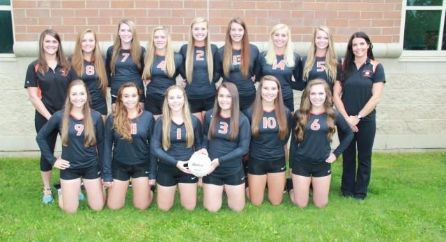 Varsity Volleyball wins Ida Invite