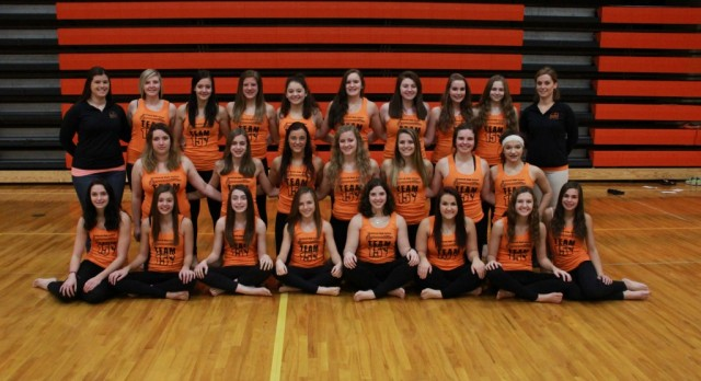 Tecumseh Gymnasts at Coldwater