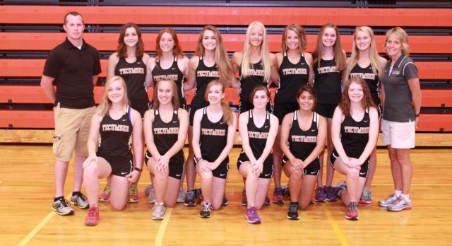Tecumseh Girls XC Results from SEC Championships