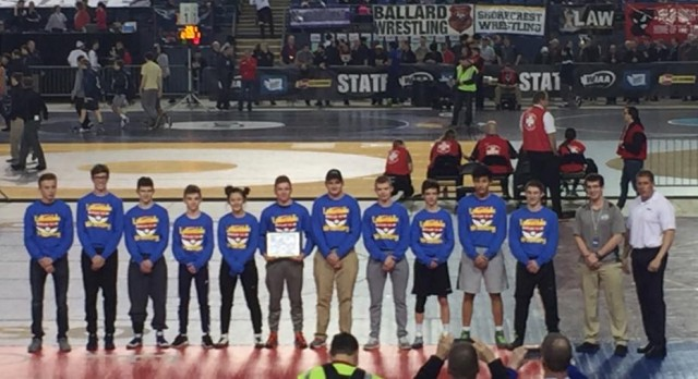 Lakeside Wrestling wins Academic State Championship