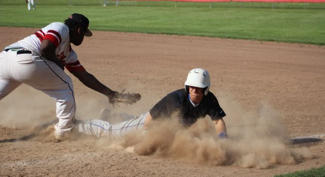Varsity Baseball beats Troy Athens 10-3