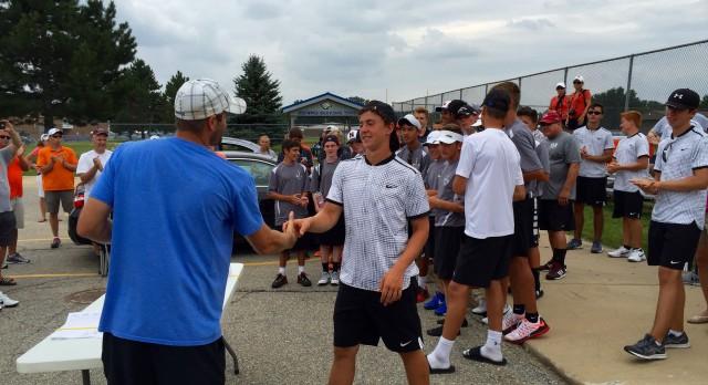 Eisenhower Boys Varsity Tennis finishes 3rd place
