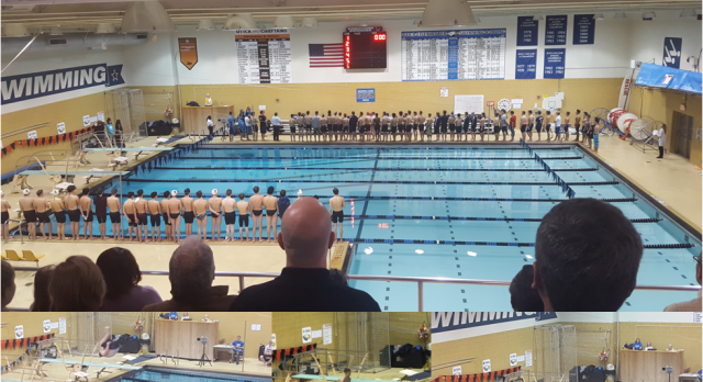 Eisenhower Boys Varsity Swimming beat Henry Ford II High School 116-67