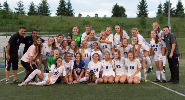 Eisenhower Girls Varsity Soccer beat Stoney Creek High School 1-0