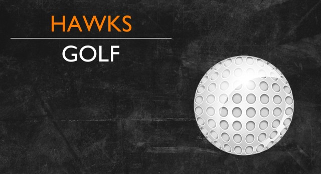 Both Hawk Golfers Finish Top 10 in Conference