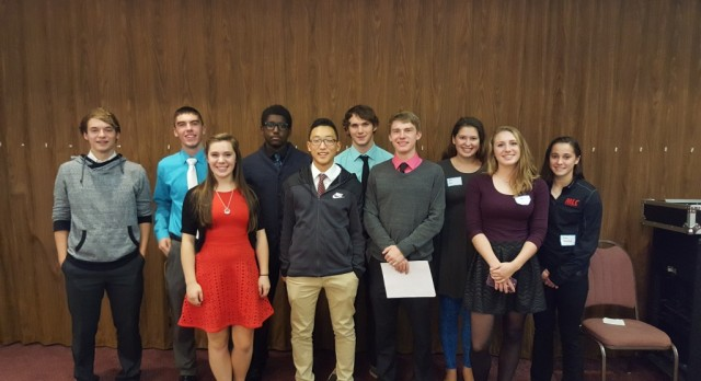 Student-Athletes Attend Leadership Luncheon