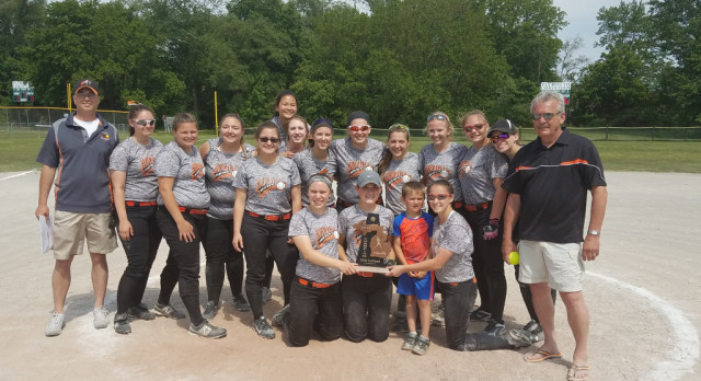 Girls' Softball Team Wins Districts!!