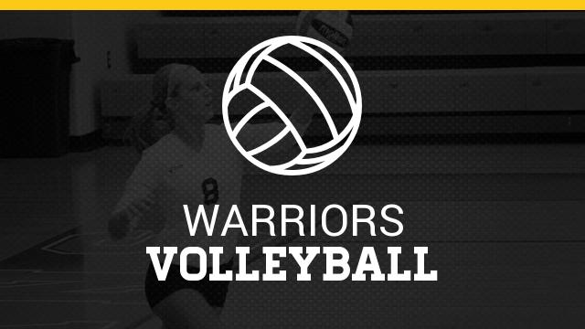 Warrior Volleyball Sweeps Charlotte 3-0 for CAAC Road Win