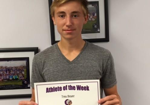 Trey Boyer PHS Athlete of the Week