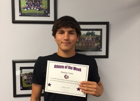 Brandon Turner PHS Athlete of the Week
