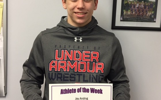 Jay Anding Athlete of the Week