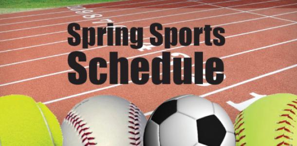 2017 Spring Sports Schedule