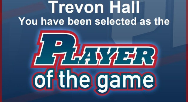 Boys Basketball – Trevon Hall Player of the Game!