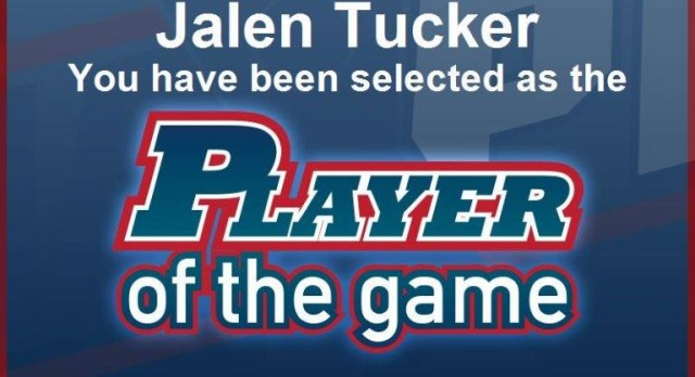 Boys Basketball – Jalen Tucker Player of the Game!