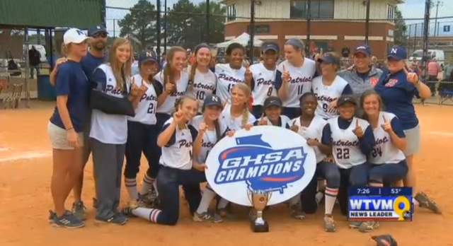 Northside Captures 4A State Softball Championship – WTVM