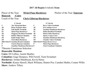 2017 All Region 1-AAAA Team