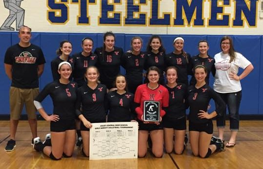 Volleyball Wins Tourney