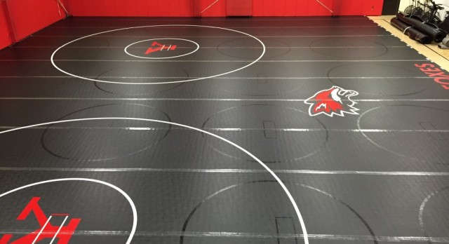 New YHS Wrestling Mats